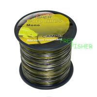 Camo Carp Fishing Line 15lb 500m Bulk Spool Distance Strong FC11
