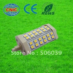 Free shipping J118 r7s 85-265V 50000H 700lm flood light bulb(China (Mainland))