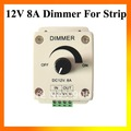 Wholesale 12V 8A Light Dimmer Brightness Adjustable Bright Controller for LED Strip