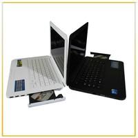 Top selling 13.3 inch windows laptop Intel D2500 dual core Built-in DVD-Burner 2G/160G ultra notebook