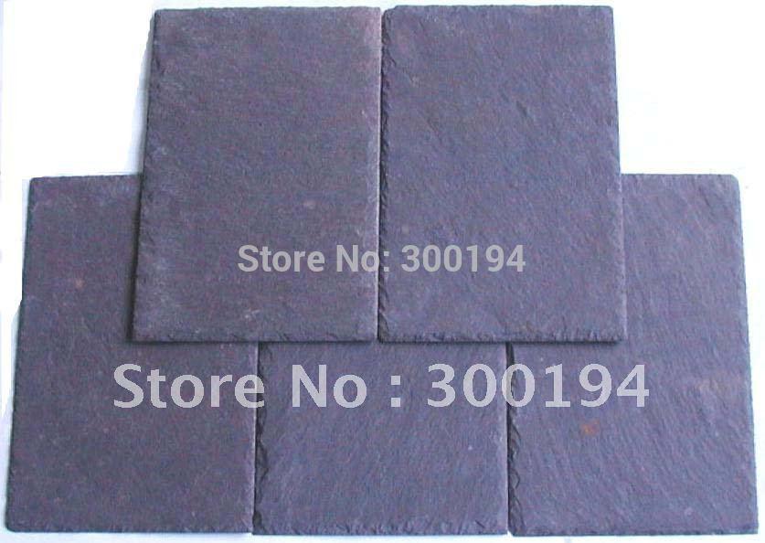 Slate tile stone flooring slate culture stone crafts villa roof tile tiling wall tile(China (Mainland))