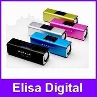 100% Original Music Angel Speaker,JH-MAUK5B portable speaker,U-disk/TF/micro SD/FM/LCD screen,RY9007