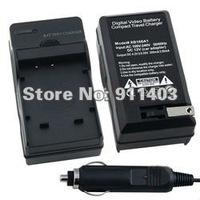 sample order  BOMACRO  Compact Digital Battery Charger Set + car charger  for Kodak KLIC-7004  Fuji NP-50 Pentax DL-I68 batterys