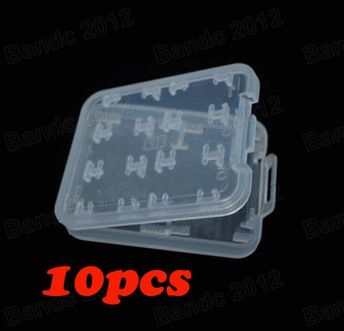 10pcs/lot,High-Quality New 8 in 1 SD MS Micro SD TF Memory Card Storage Holder Carrying Box Case(China (Mainland))