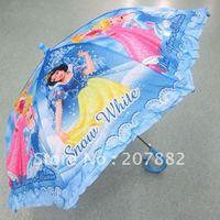 Free Shiping! Fashion Princess Cartoon Umbrella Straight Umbrella Children Rain Gear A0363 on Sale Wholesale