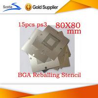 15pcs 80*80 BGA Stencil  for Ps3 BGA Reballing Kit