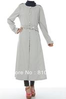 Islamic TURKISH Women's JILBAB , Coat TK-090  Series(MOQ: 2 Pieces) ,(Abaya , Jilbab, muslim woman's cloth )