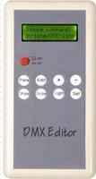 DMX editor for setting dmx address(hand type)DC5V input