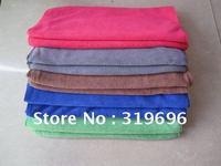 Free Shipping 10PCS Micro Fiber Towel Car Cuto Washing Cleaning Towel Kitchen Towel Dry Hair Sport Towel Wholesale&Retail33*75CM