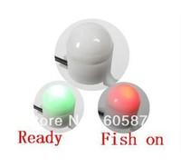 NEW! 10Pcs Lot Night Fishing Rod Tip Clip on Fish Bite Alarm Alert Strike Light FISH FINDER