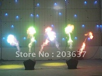 Free shipping,Triple Flame Projecotrs ,Three head Fire machine,DMX512 Control fire machine