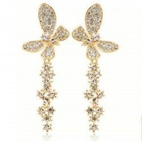 Popular with tassel ear hammer drill butterfly-fly wing to wing