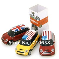 Free shipping-hot sell plastic BMW car USB  2GB/4GB/8GB ,Car usb flash drive 10pcs/lot for gift