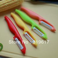 Fruit Vegetable ceramic peeler,White Ceramic Blade,ABS handle. free shipping