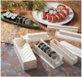 Free shipping sushi mold soshi maker set tools DIY cutter hot sale high quality with retail box