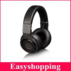 EMS/DHL freeshipping Professional DJ Headset detox Headphone High Performance Noise Cancell pro pure black headphone(China (Mainland))