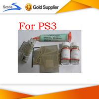 BGA Reballing Kit 16pcs Heat Direct For PS3 BGA Reballing Stencils+BGA Reballing Station+Solder Ball+Solder Flux