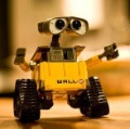 "Free shipping! New Arrival! 9""Pixar U COMMAND WALL* E Robot walle , walle 20cm hot sale robot"