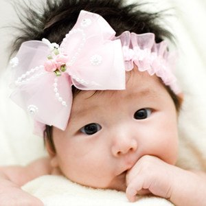 10pcs baby girl headband boutique accessories, fashion butterfly knot flower hair band, 3 colors available, Free Shipping