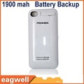 1900 mAh For Apple-iphone4 External Battery Charger Case Battery Backup ip-628