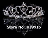 Fashion Bridal  Rhinestone Crown Tiara Hair Headband Comb For Women  Free Shipping LKT0037