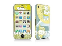 Free Shipping!!New style  ,Skin Stickers for iPhone 4