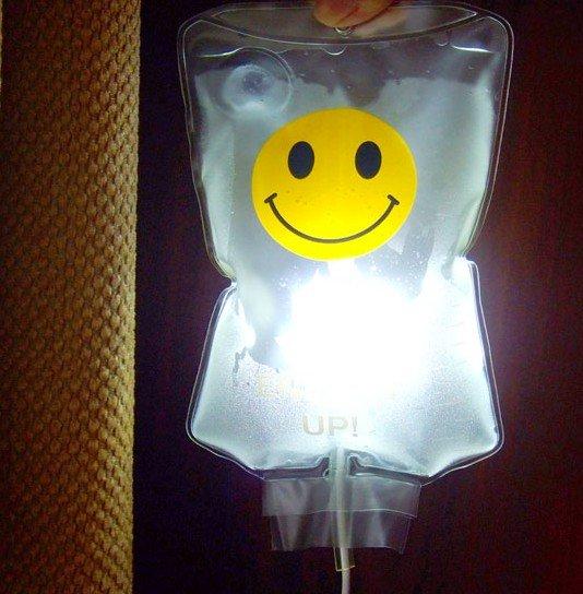 1PCS LED Light Drip Infusion Bags Lamp USB(China (Mainland))