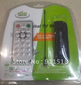 DVB-T+DAB+FM Radio Tuner Receiver Mini TV Stick Remote