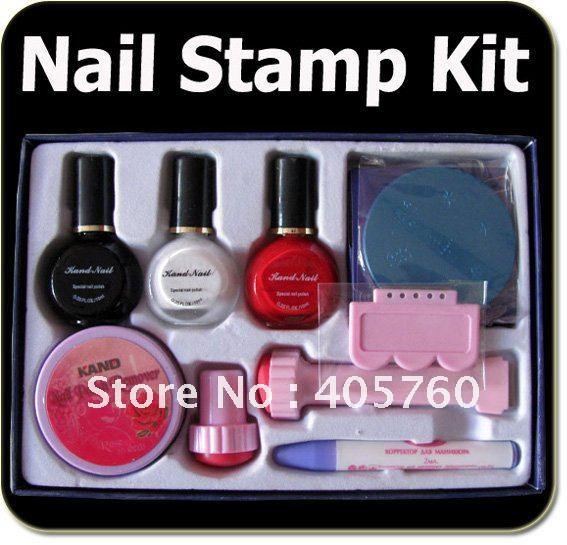 Further Nail Art St Ing Kit Walmart On Nail Art Stamping Kit Dubai - Nail Manicure Set 36w Uv Lamp Soak Off Uv Primer Top Coat 5ml Uv