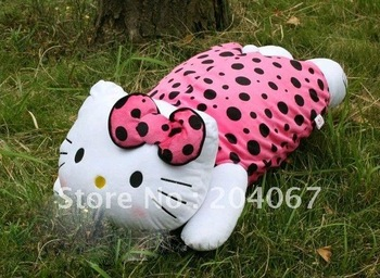 super plush blanket doll high quality brand doll hello kitty plush doll 65cm high big size free shipping