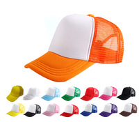 Wholesale 2014 Cheap Blank Fashion Men Trucker Mesh Hats Two Tones Women Spring Plain Snapbacks Hat Mens Summer Caps Womens Cap