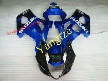 WINDSCREEN GIFT    NEW  BODY KITS  fairing kit for  GSXR1000  03-04   GSXR 1000  2003 2004 GSXR1000 03 04 GSXR1000 2003  BLUE