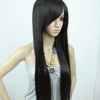 28inch 202G Indian Blended Remy hair full wigs,Factory Outlet Price/Silky straight party wig,free shipping