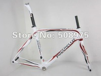 wholesale! 2011 Pinarello dogma 60.1 / white+red+black  / Carbon Road Bicycle Frame+fork+seatpost+clamp+headset