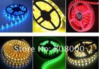 free shipping non-waterproof  DC12V flexible led strip lights 3528 300 leds / 5meter
