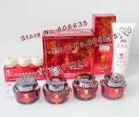 Original~Free shipping LiangJiaLi whitening cream 4in1 +Cleanser+Sample