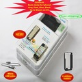 NEW HOT Free shipping  Capacity 2100mAh for Mobile power Input  5V/1.5A Back clamp type battery for iphone4