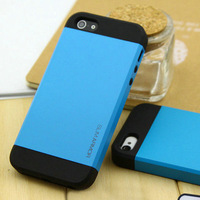 Top quality hard case Original Moshika rainbow case for iphone 4s 4g ,5 parts colors of back cover for iphone 4s with retaox