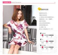 New summer wear BenMaTu sexy lovely han emulation silk nightgown