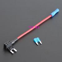 100-Add A Circuit Fuse Tap Piggy Back MINI Blade Fuse Holder ATM APM 12v 24v 12 volt