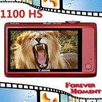 Original Canon IXUS 1100 HS Digital Camera 12x Optical Zoom, 4x Digital Zoom,12.1MP Sensor Resolution Digital Camare