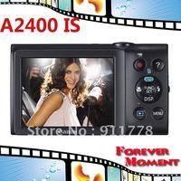 Original Canon PowerShot A2400 IS Digital Camera 5x Optical Zoom, 4x Digital Zoom,16MP Sensor Resolution Digital Camare