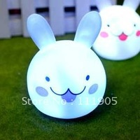 Free Shipping Fashion LED  Rabbit head  Lamp,Night light,Children Christmas Gift
