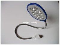 Mini 13-LED Flexibly USB LED Light for PC free shipping 8640