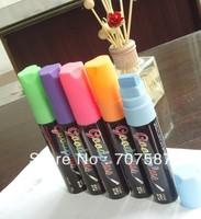 8 pcs  15mm Highlighter Fluorescent Liquid Chalk Marker Pen for LED Writing Board