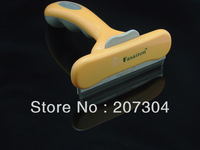 "Pet hair shedding Cleaning tools, Large  4""  Yellow or Blue Color, 1PCS, pet grooming"
