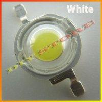 Wholesale 100pcs/lot 3.4V 1W 100LM 350mA LED Bulb IC SMD Lamp High Power+free shippinc-10000501