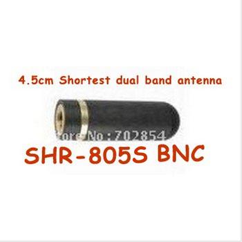 BNC shortest 4.5CM dual band handheld walkie-talkie BNC antenna SRH-805S two way radio BNC Antenna