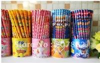 Free Shiping! Fashion Pencil Wooden Pencil Set Stationery Set (72pcs/set) A0449 on Sale Wholesale