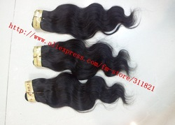 Top quality Queen brazilian hair/Human hair 3 pcs/lot DHL free shipping 12&quot;-28&quot; natural color wholesale price(China (Mainland))